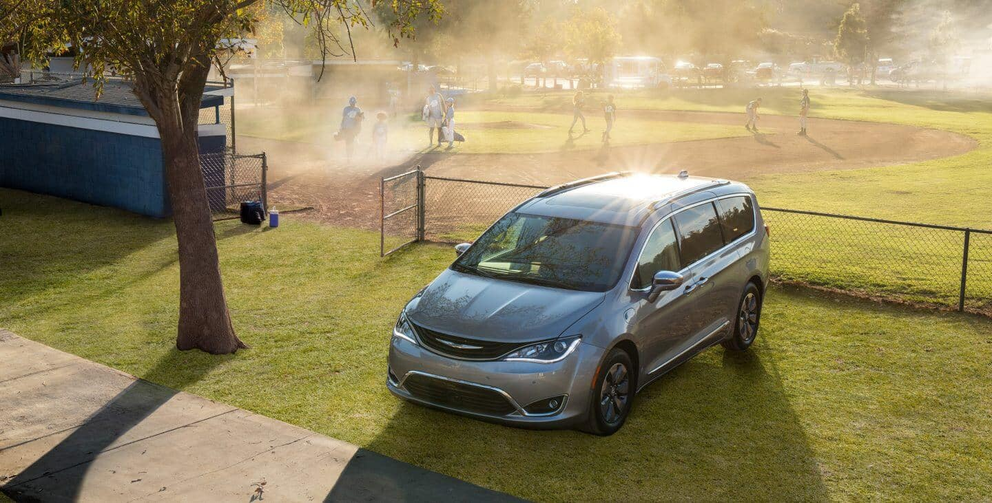 2018 Chrysler Pacifica Gray