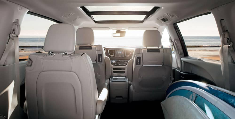 2018 Chrysler Pacifica Storage