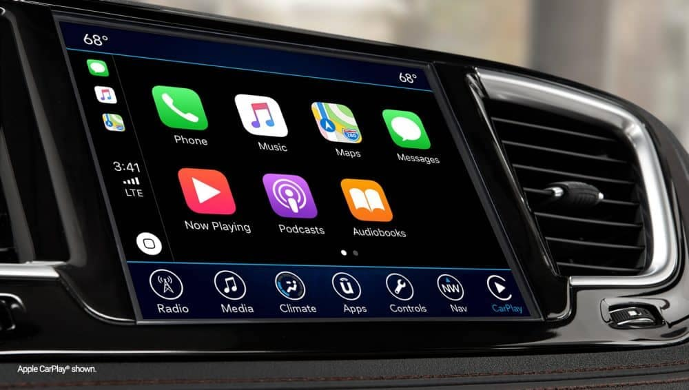 2018 Chrysler Pacifica Touchscreen
