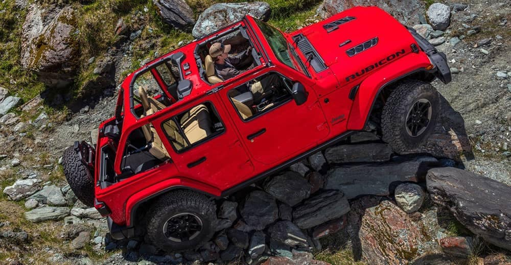 2018 Jeep Wrangler Red