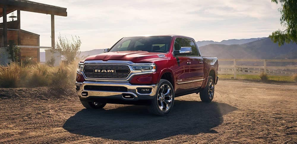 2019 Ram 1500 Front View