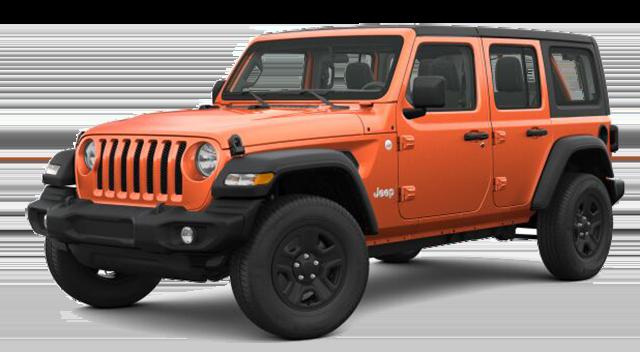 2018 Jeep Wrangler Orange