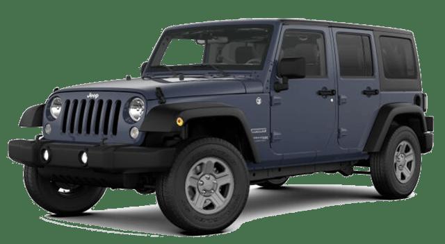 2018 Jeep Wrangler JK Blue