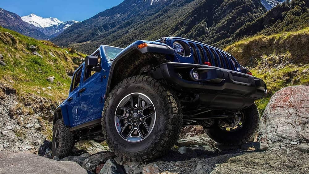 2019 Jeep Wrangler wheel detail