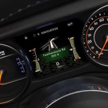2019 Jeep Wrangler instrument panel