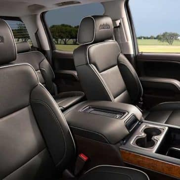 2018 Chevy Silverado 1500 Interior