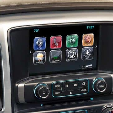 Chevrolet Silverado Touchscreen