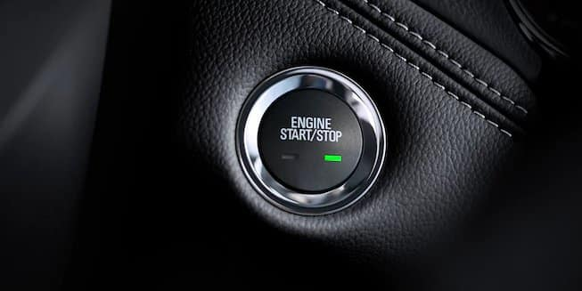 Chevy Cruze Engine Button