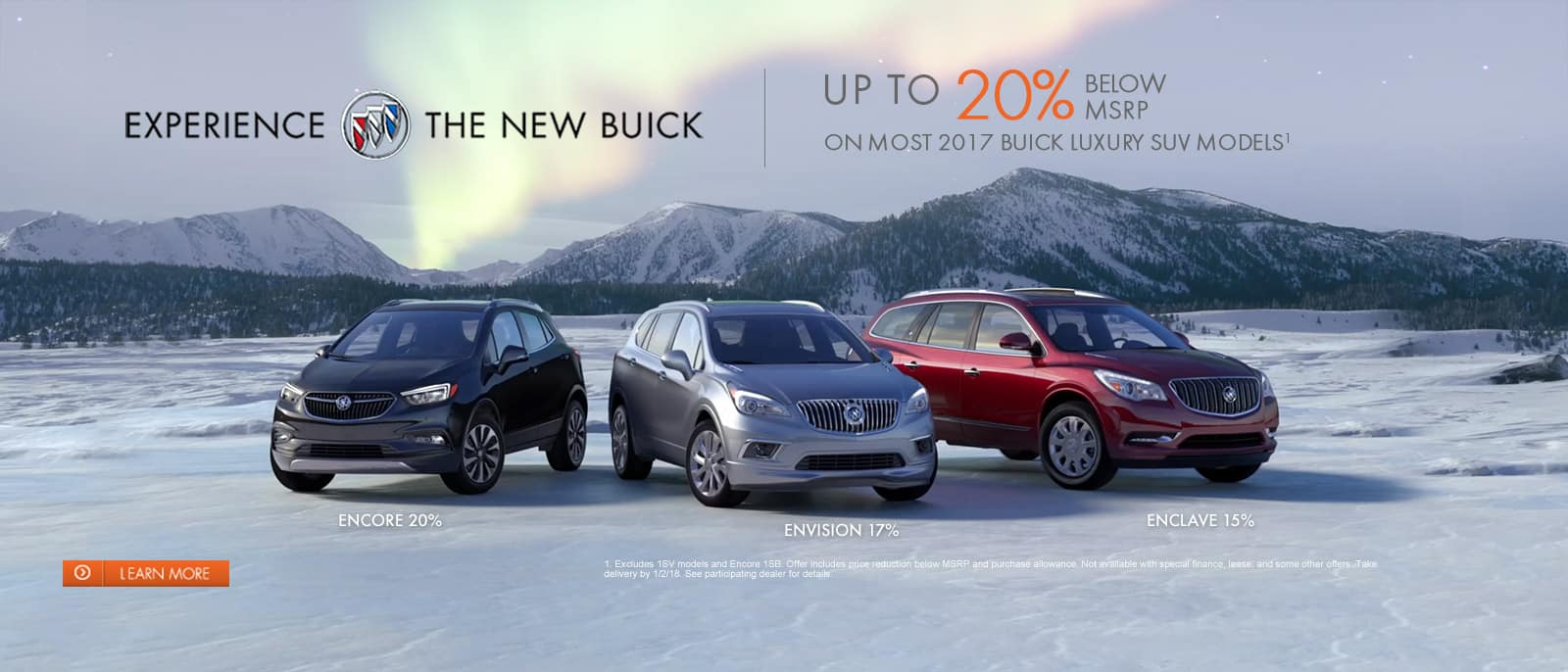 New Buick Model Lineup