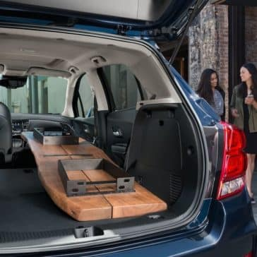 Chevrolet Trax Trunk