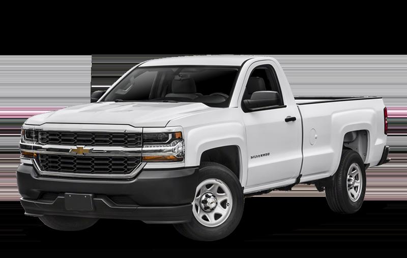 White Chevrolet Silverado