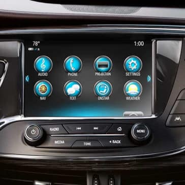 Buick Encore Touchscreen
