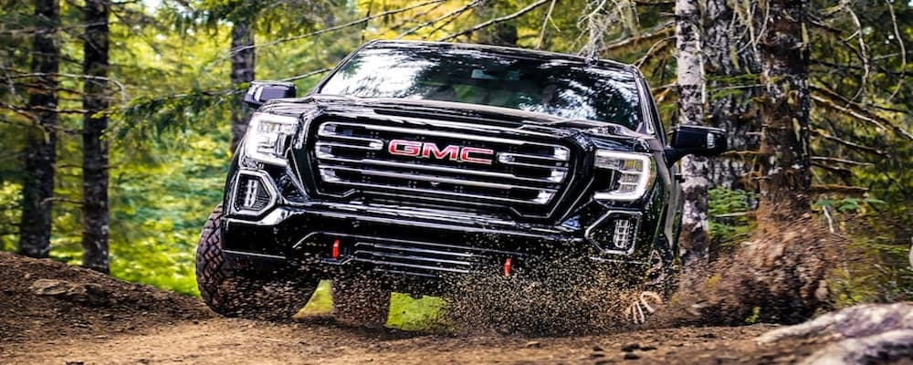 GMC Sierra Denali off-roading