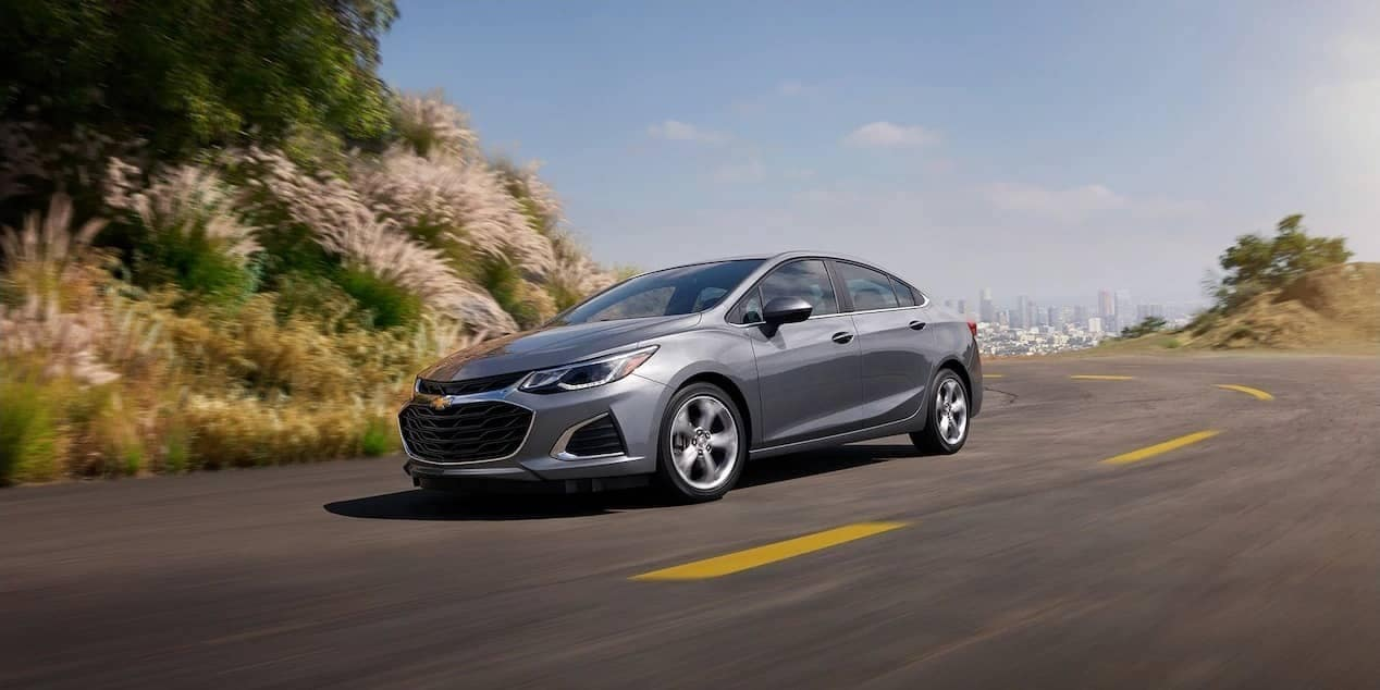 2019 Chevrolet Cruze sedan on the roadway