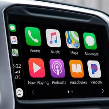 infotainment screen in 2019 Chevrolet Silverado 1500