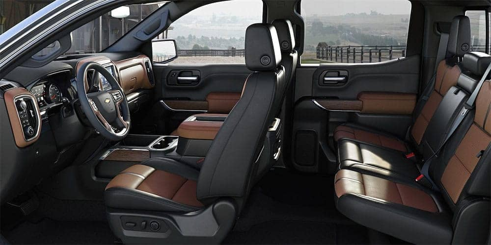 2019 Chevrolet Silverado 1500 interior seating