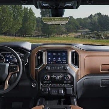 2019 Chevrolet Silverado 1500 dashboard