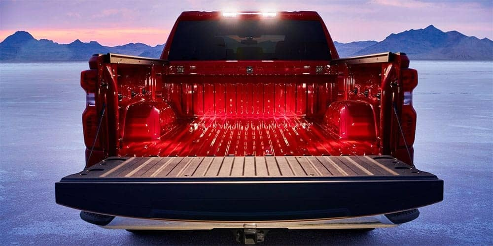 2019 Chevrolet Silverado 1500 truck bed