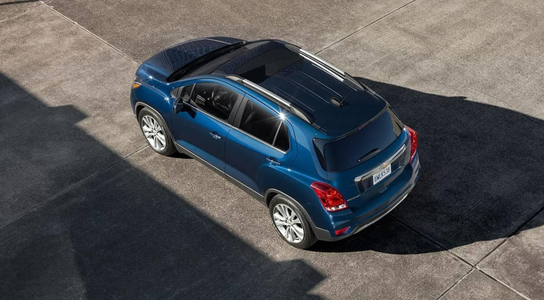 2019 Chevrolet Trax aerial view