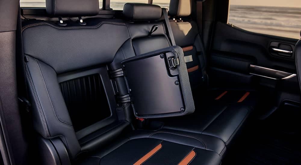 2019 GMC Sierra 1500 AT4 rear seat storage