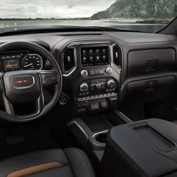 2019 GMC Sierra 1500 AT4 dashboard