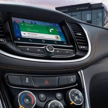 2019 Chevrolet Trax infotainment display