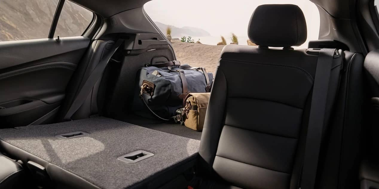 2019 Chevrolet Cruze rear folding seats