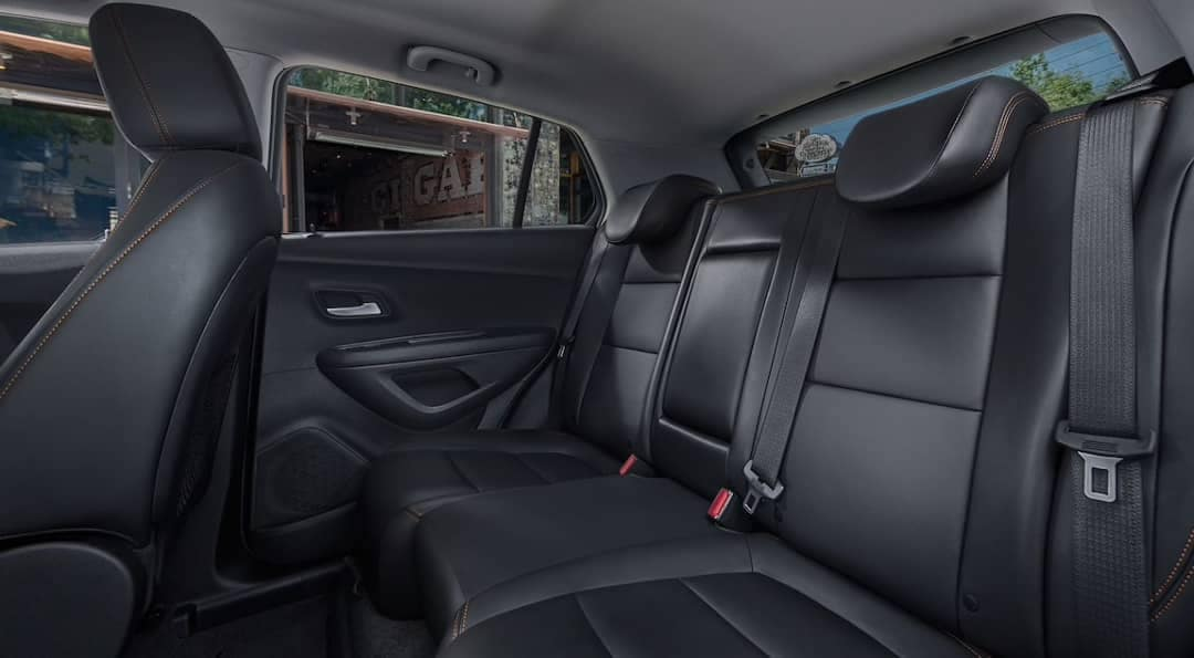 2019 Chevrolet Trax rear seating
