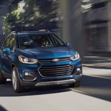 2019 Chevrolet Trax driving down street