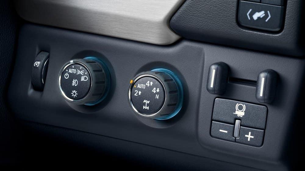 2019 GMC Yukon Tow Controls