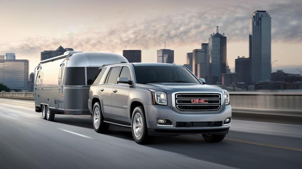2019 GMC Yukon Towing a Trailer