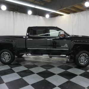 Black Silverado HD Grizzly Profile