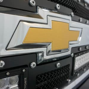 Chevy Logo on Silverado Grizzly