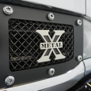 Mesh Grille on Silverado HD Grizzly