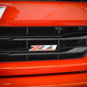 Red Silverado Z71 Badging