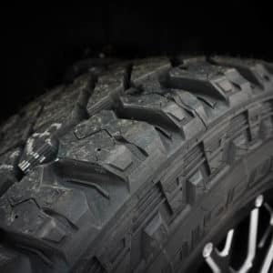 Silverado All-Terrain Tire Tread