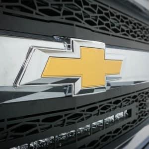 Silverado Grille with Chevy Bowtie Logo