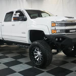 White Silverado Altitude Edition