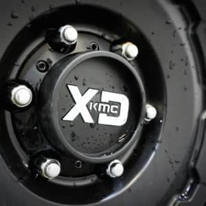 XD KMC Wheel Close-up