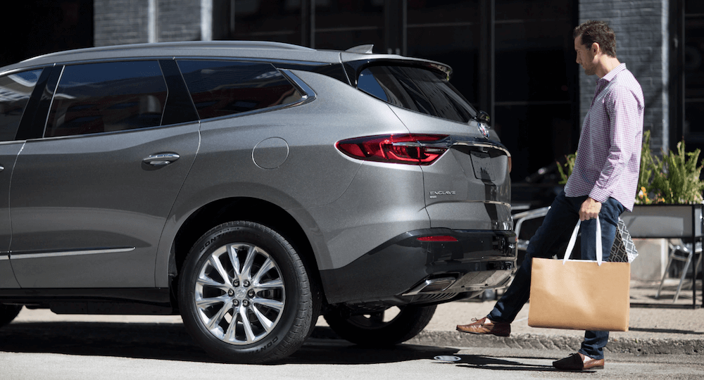 2020 Buick Enclave rear cargo space