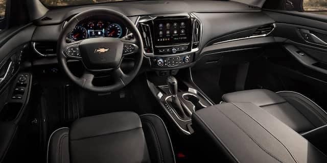 2020 Chevy Traverse Dash