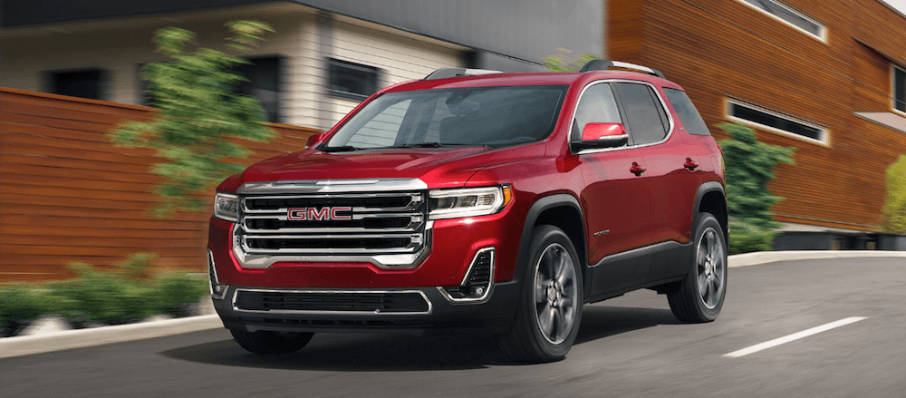 2020 Gmc Acadia Towing Capacity Payload Cargo Space Chevrolet