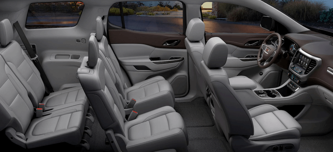 2020 GMC Acadia interior seating