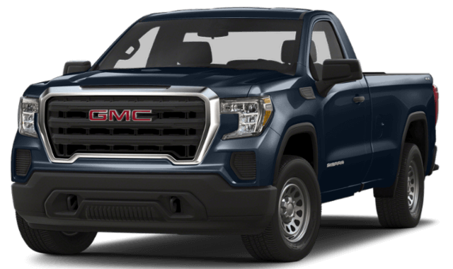 2020 GMC Sierra 1500 blue truck comparison thumbnail
