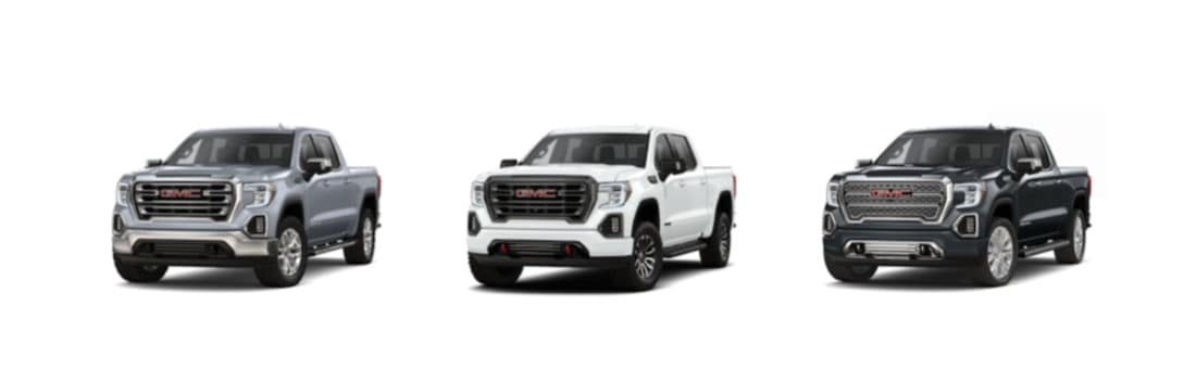 2020 GMC Sierra 1500 colors and trim levels