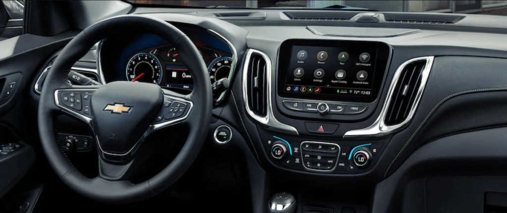 2021 Chevy Equinox Interior Dashboard