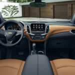 2021 Chevy Equinox Interior Dashboard - Tan Fabric