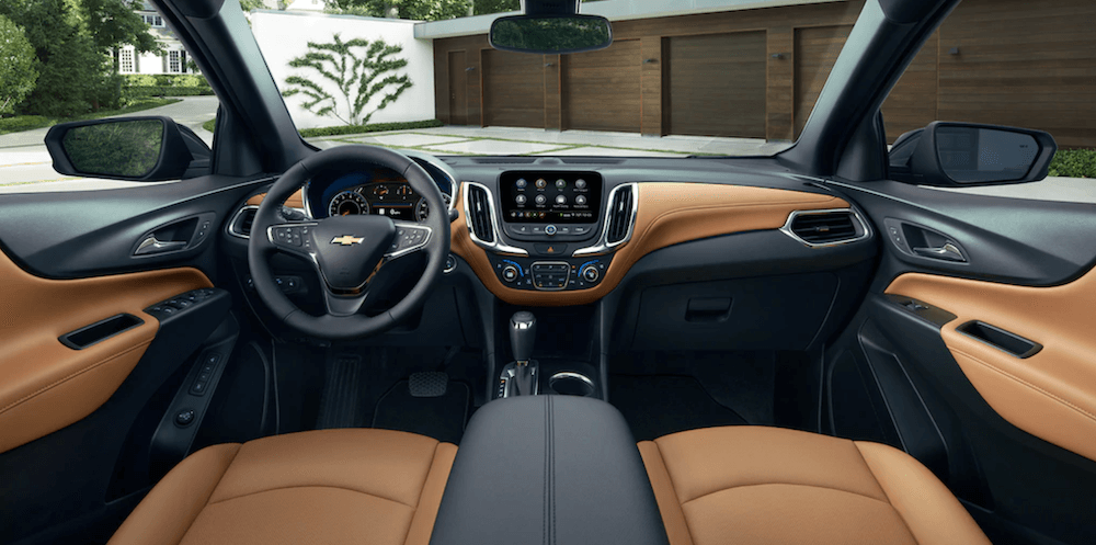 2021 Chevy Equinox Interior Dashboard - Tan Fabric