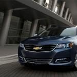 2016 Chevy Impala city driving