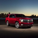2017 Chevy Tahoe Red